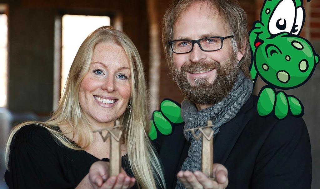 Sara Strömberg och Anders Nilsson får Östersunds kommuns kulturpris