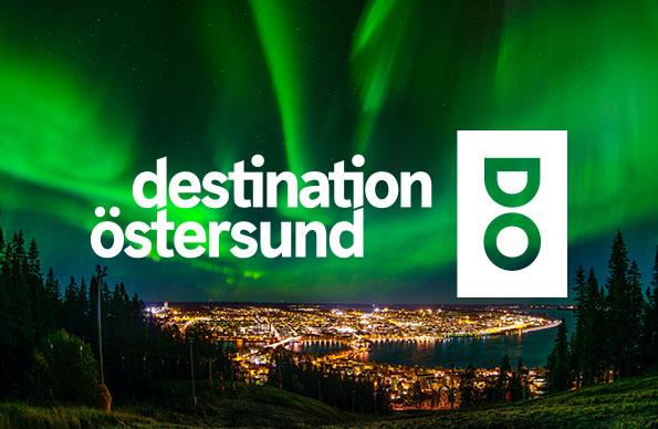 Grafisk profil för Destination Östersund