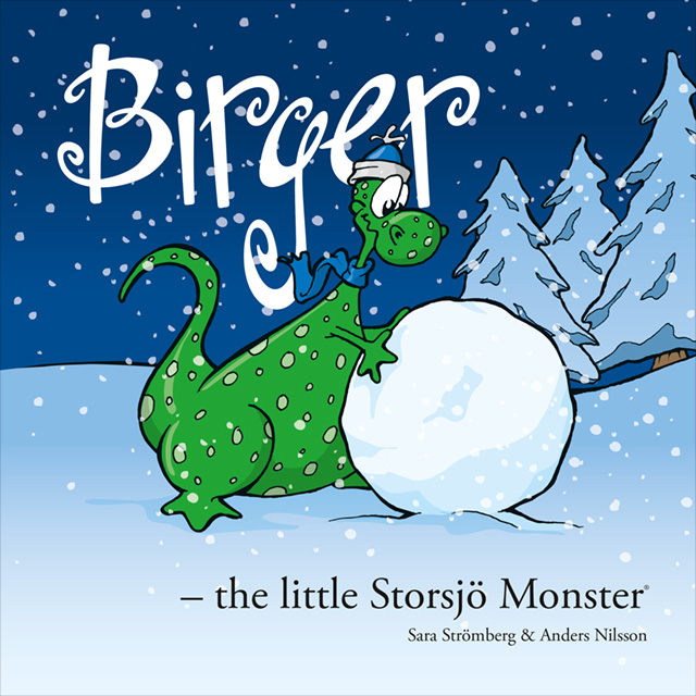 Bokomslag, Birger - the little Storsjö Monster