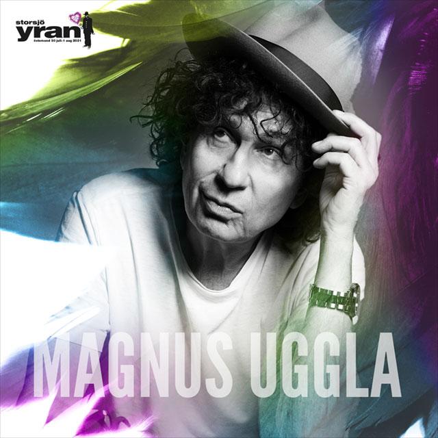 Kampanjmaterial för Storsjöyran, Magnus Uggla